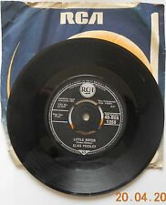 "Elvis Presley (Marie's The Name) His Latest Flame UK 7"" vinyl single record"