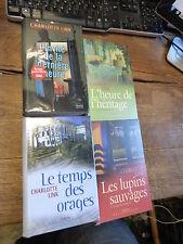 Charlotte link Lot de 4 livres : les lupins sauvages - l'heure de l'héritage