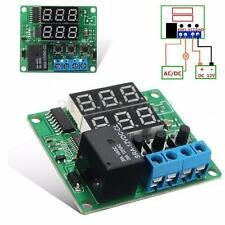 DC 12V Dual LED Multifunction Cycle Timer Control Relay Module Delay Time Switch