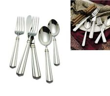 Reed & Barton Preston Service for 8 Plus Serving Set 18/10 Stainless Flatwa