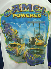 New in Box Vintage 94 CAMEL Powered Racing T-Shirt. NASCAR. Size XL. Color Bleed