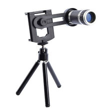 For Camera Mobile Cell Phone 8x Zoom Optical Lens Telescope + universal holder