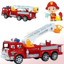 Hot Sale Kids Military Fire Truck Large Fire Engine Vehicle Model + Ladder Toy