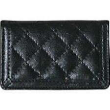 Buxtom Quilted Business Card Case, Pocket Size, Black ~ Free Shipping