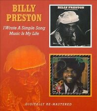 I Wrote a Simple Song/Music Is My Life [Slipcase] by Billy Preston (CD,...