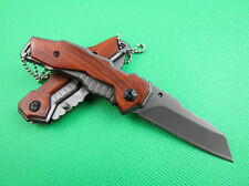 Outdoor Pocket Folding Knife Fishing Hunting Camping Survival Rescue Saber