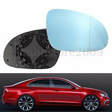 Right Passenger Side Heated Wing Mirror Blue Tinted Glass For VW Passat MK5 MK6