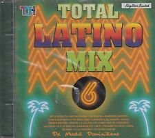 Total Latino Mix 6 Latino Dance Mix Latino Merengue Mix CD New Nuevo  Sealed
