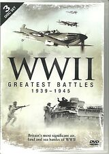 WWII GREATEST BATTLES 1939 - 1945 WORLD WAR TWO - 3 DVD BOX SET
