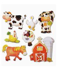 3D Wandsticker Wandtattoo Tiere Bauernhof #504 Pferd,Kuh Stall usw Kinderzimmer