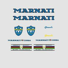 Marnati Bicycle Decals, Transfers, Stickers - Blue n.100