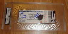 Rare CHICAGO CUBS JAKE ARRIETA AUTO SIGNED NO HITTER TICKET PSA CY YOUNG 8 30 15