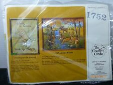 Vintage The Creative Circle Embroidery Crafting Kit 1752 Father in Heaven NOS