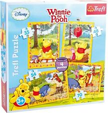 Winnie the Pooh Children's 4 in 1 Jigsaw Puzzle