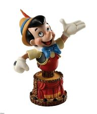 Disney Grand Jesters 4038502 Pinocchio Bust Statue Figurine in Gift Box  21526