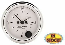 "Auto Meter Old Tyme 2-1/16"" 12V Electric Clock 1686"