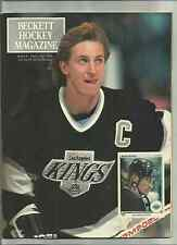 1990 BECKETT HOCKEY MAGAZINE ISSUES #1==SEE SCAN==
