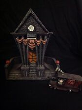 Hawthorne Village Nightmare Before Christmas Town Hall W/ Mayor's Car Fig House