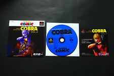 COMIC Space Adventure COBRA Vol.2 Sony PlayStation PS1 JAPAN Good.Condition !