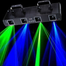 4 Lens DMX  Laser Licht Light Lichteffekt Bühnenbeleucht DJ Disco Party Bar Club