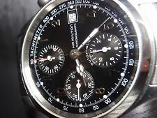 40mm Hamilton Khaki Chronograph Auto 3828 *SERVICED 7750* mens SS watch