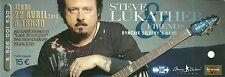 RARE / TICKET CONCERT - STEVE LUKATHER ( TOTO ) : LIVE A RUAUDIN ( FRANCE ) 2010