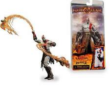 "GOD OF WAR-KRATOS WITH FLAMING BLADES OF ATHENA 18 CM - 7"" NECA"