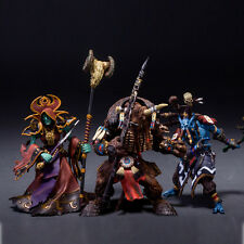 SOTA World of Warcraft Ultra Scale Figure Set Undead Warlock Shaman Troll Priest