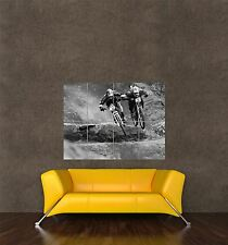 POSTER PRINT PHOTO SPORT MOUNTAIN BIKE DOWNHILL RACING MTB DIRT RACE SEB368