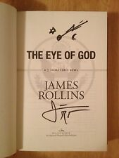 SIGNED The Eye of God by James Rollins HC 1/1 UNREAD