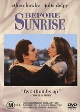 ●● BEFORE SUNRISE ●● (DVD, 2003) Ethan Hawke, Julie Delpy *AS NEW*