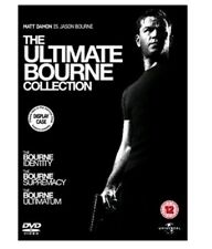 JASON BOURNE COLLECTION TRILOGY DVD STEELBOOK All 3 Movie Films Brand New Sealed