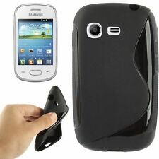 COVER SILICONE ULTRA SLIM per SAMSUNG GALAXY POCKET NEO S5310 CUSTODIA CASE NERO