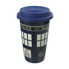 DOCTOR WHO TARDIS TRAVEL MUG CERAMIC BRAND NEW IN BOX GREAT GIFT DISNEY