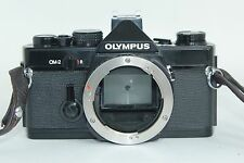 BLACK OLYMPUS OM-2 OM2 FLASH SHOE 3 CAMERA 35mm SLR BODY FOR ZUIKO