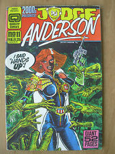 2000AD PRESENTS JUDGE ANDERSON - USA QUALITY COMIC - No 11 1987