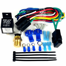 "Chevy Truck Radiator Fan 16"", Electric Fan & Fan Relay Wiring Kit, 2100CFM's"