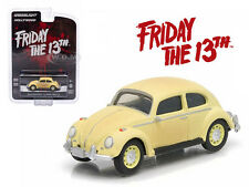 "1963 VOLKSWAGEN BEETLE ""FRIDAY THE 13TH PART III"" 1/64 BY GREENLIGHT 44690 D"