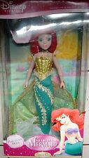 "New Disney Little Mermaid Ariel 18"" Porcelain Doll Limited Edition"
