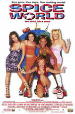 SPICE WORLD: THE MOVIE POSTER Emma Bunton Geri Halliwell Victoria Beckham Mel B
