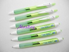 6Pcs Uni-Ball JetStream SXN-157S Retractable 0.7mm BL ink Ball Point Pen, LGREEN