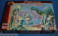 DARK ALLIANCE - ORCS (SET 2). 1/72 SCALE UNPAINTED PLASTIC FANTASY FIGURES