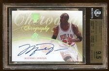 BGS 9.5 10 MICHAEL JORDAN SP AUTO GOLD CHIROGRAPHY /25 AMAZING CARD 10 3 X95 HOF