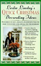 Quick Christmas Decorating Ideas by Leslie Linsley(1996)HC