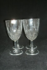 "Luminarc Cristal d'Arques Durand DIAMANT Clear Set of 4-6""  Wine / Water Goblets"