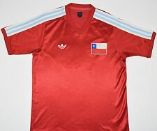 CHILE ADIDAS ORIGINALS FOOTBALL SHIRT (SIZE M)