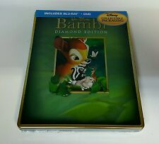 BAMBI Blu-ray STEELBOOK / Viva Metal Box [FUTURE SHOP CANADA] BRAND NEW /OOS/OOP