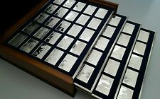 Franklin Mint Bicentennial History of United States.100 Sterling Silver Ingots