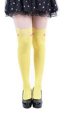 Pikachu Pokemon anime cartoon Dual Color Tattoo Socks Sheer Pantyhose Stockings