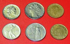 ITALY- 50,100 & 200 LIRE-3 DIFFERENT COINS SET
